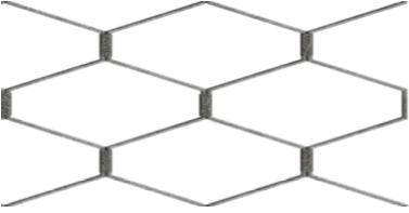 Hexagonal Elongado